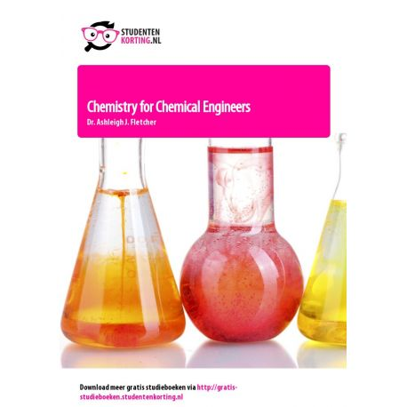Chemistry for Chemical Engineers
